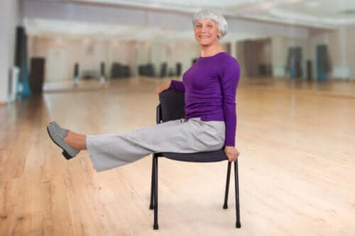 Chair Yoga Exercises for Older Adults