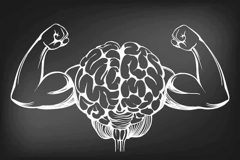 A strong brain.