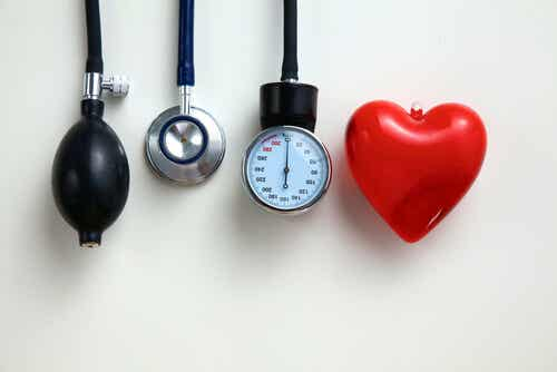 A heart pressure monitor.