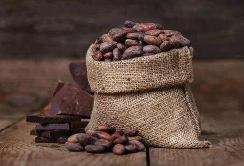 A sack of cacao.