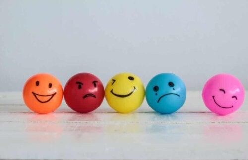 A set of mood balls.