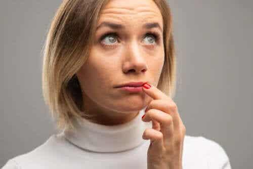 Lip Color Changes as a Symptom