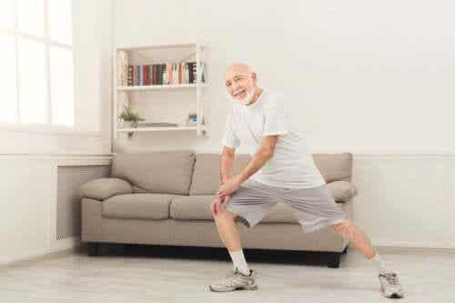 Home Exercises in Old Age: People Over 70