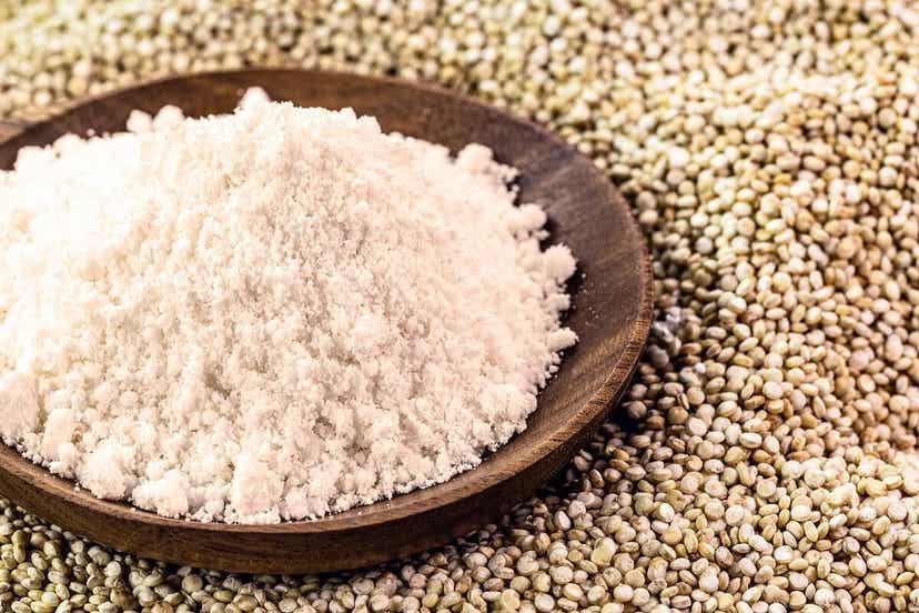 Tør quinoa og quinoamel