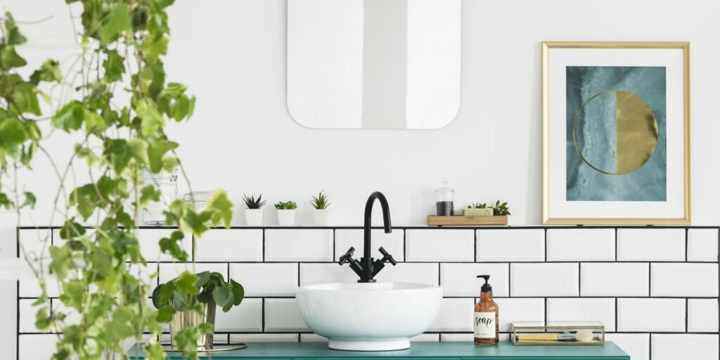 Decorate the Bathroom with Plants: 7 Ideas