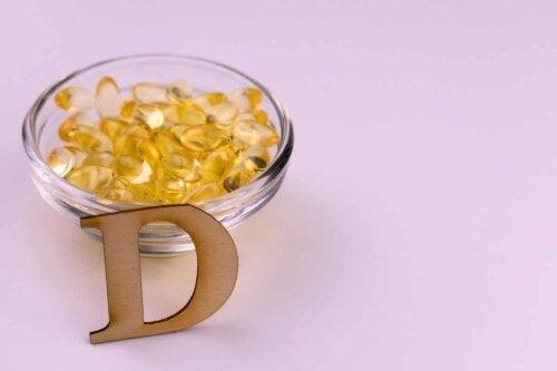 A bowl of vitamin D.