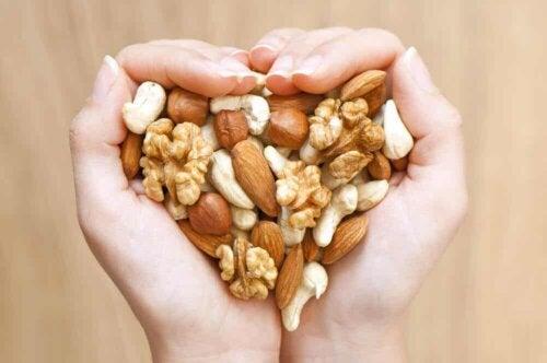 A nutty heart.