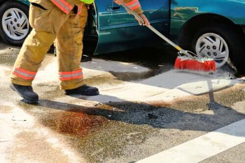 How to Clean Up a Gasoline Spill