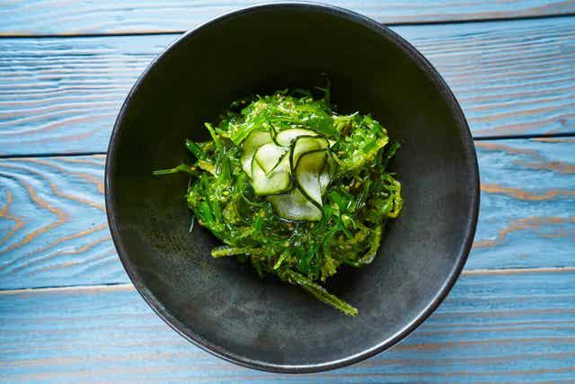 En salat med tang