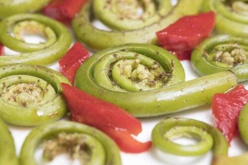 En grøntsagsret
