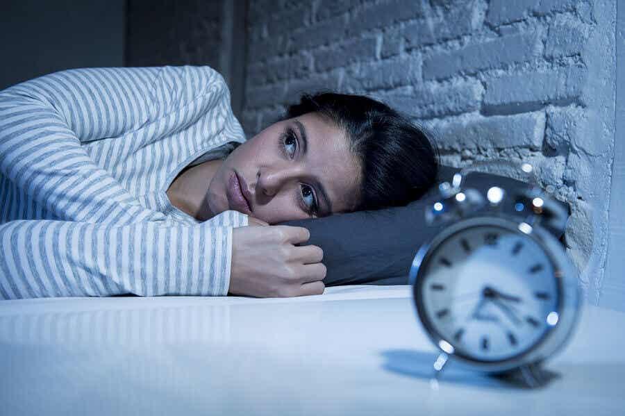 Μια γυναίκα με αϋπνία